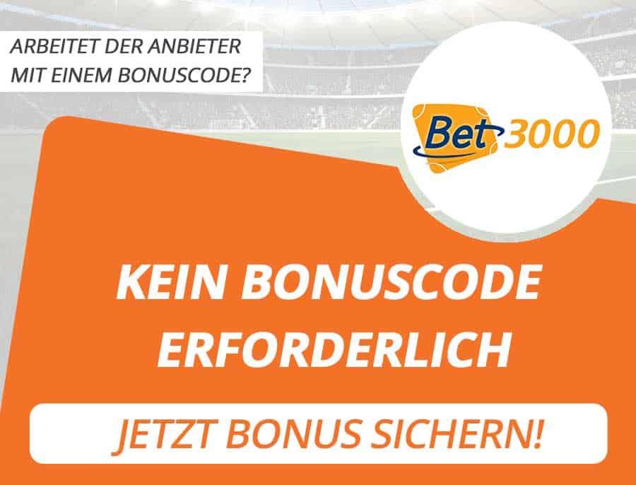 bet3000 Bonus Code
