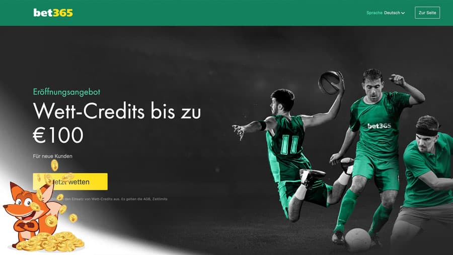 bet365 Sportwetten Bonus