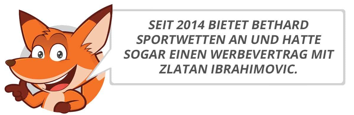 Bethard Testbericht vom Sportwettenfuchs