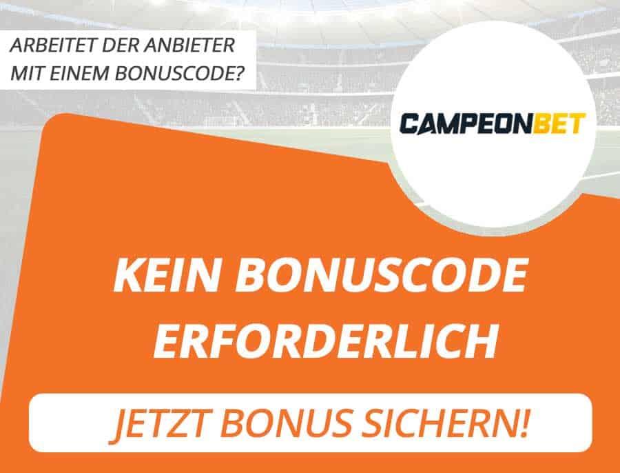 Campeonbet Bonus Code