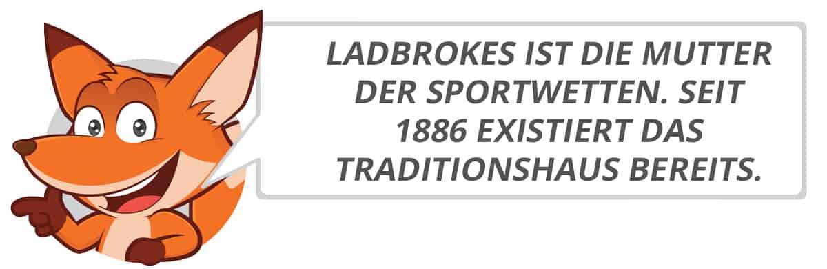 Ladbrokes Testbericht vom Sportwettenfuchs