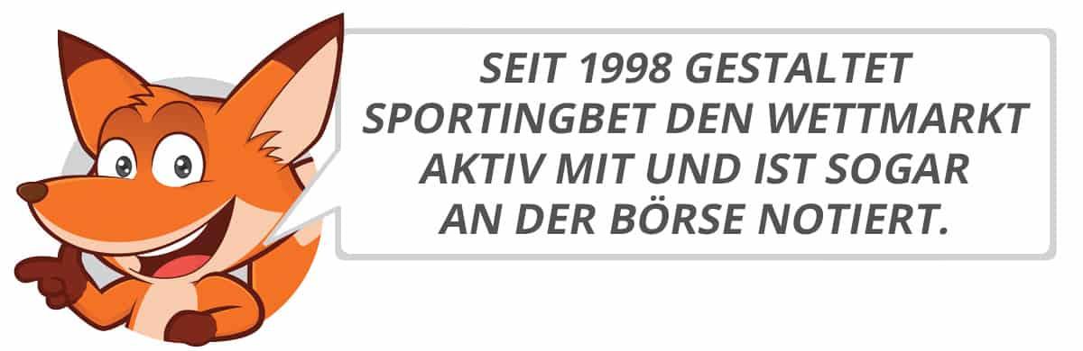 Sportingbet Testbericht vom Sportwettenfuchs