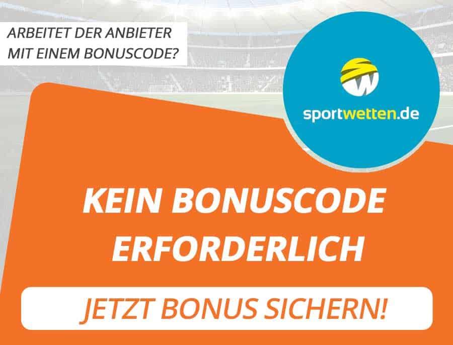 Sportwetten.de Bonus Code