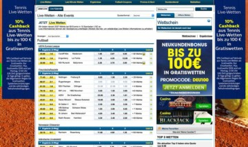 Livewetten bei William Hill