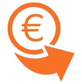 Einzahlung Icon