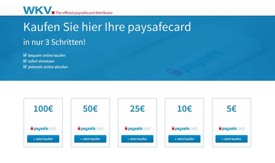 Paysafecards sicher online kaufen