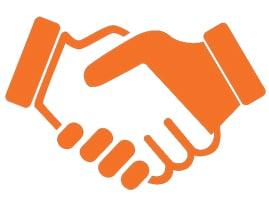 Freunde Hände Icon