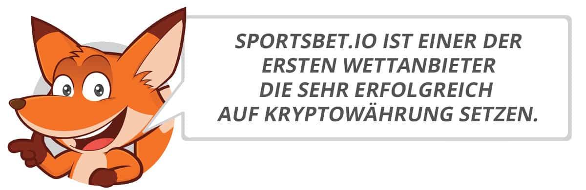 sportsbet.io Testbericht vom Sportwettenfuchs