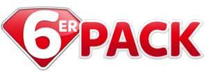 6er Pack Sky Logo