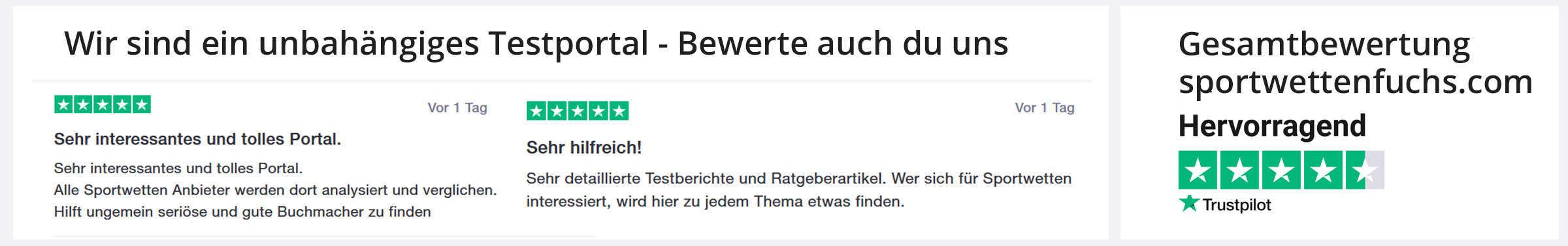 sportwettenfuchs.com trustpilot