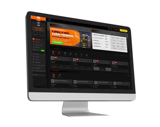 888sport Website Desktop