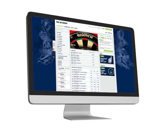 bet at home Website Desktop