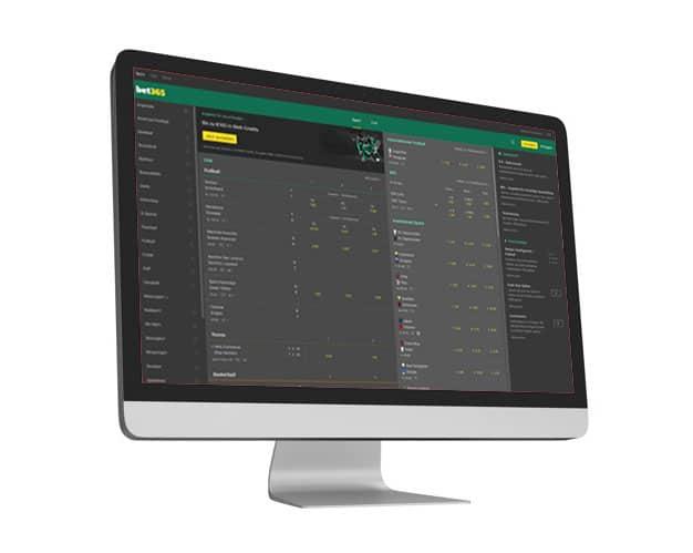 bet365 Website Desktop