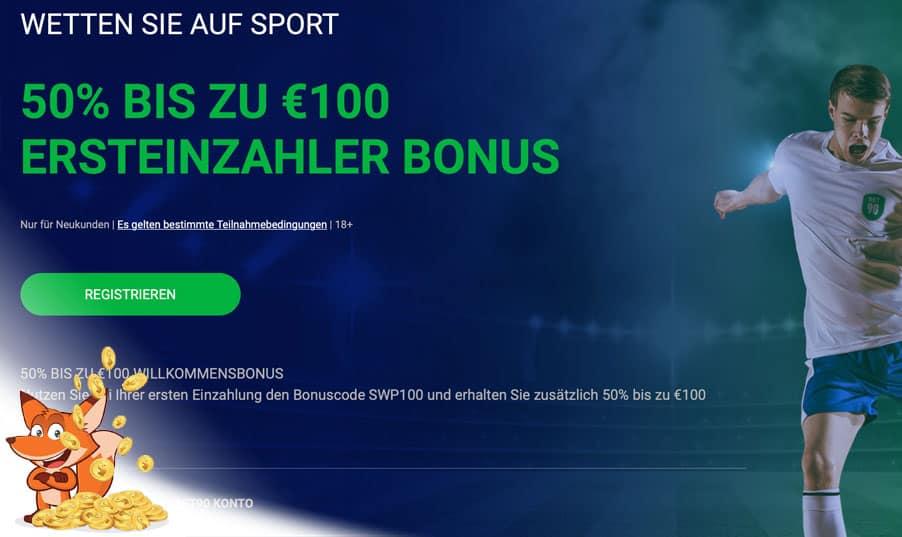 bet90 Sportwetten Bonus