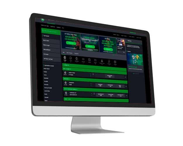 bet90 Website Desktop
