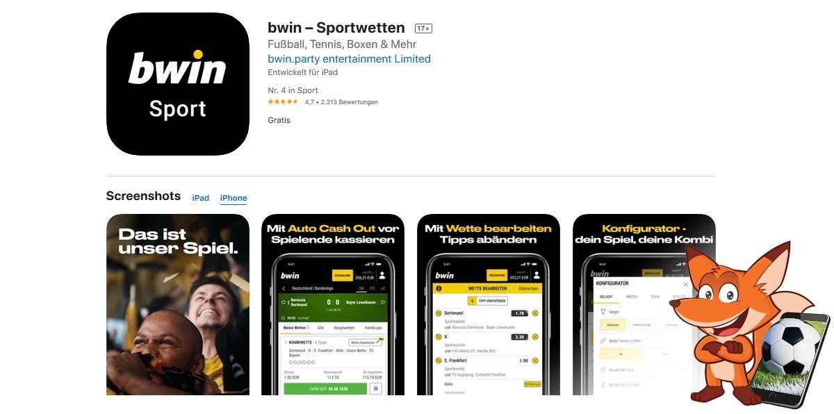 Bwin Sportwetten App