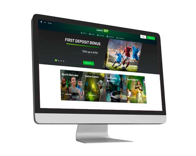 Campobet Website Desktop