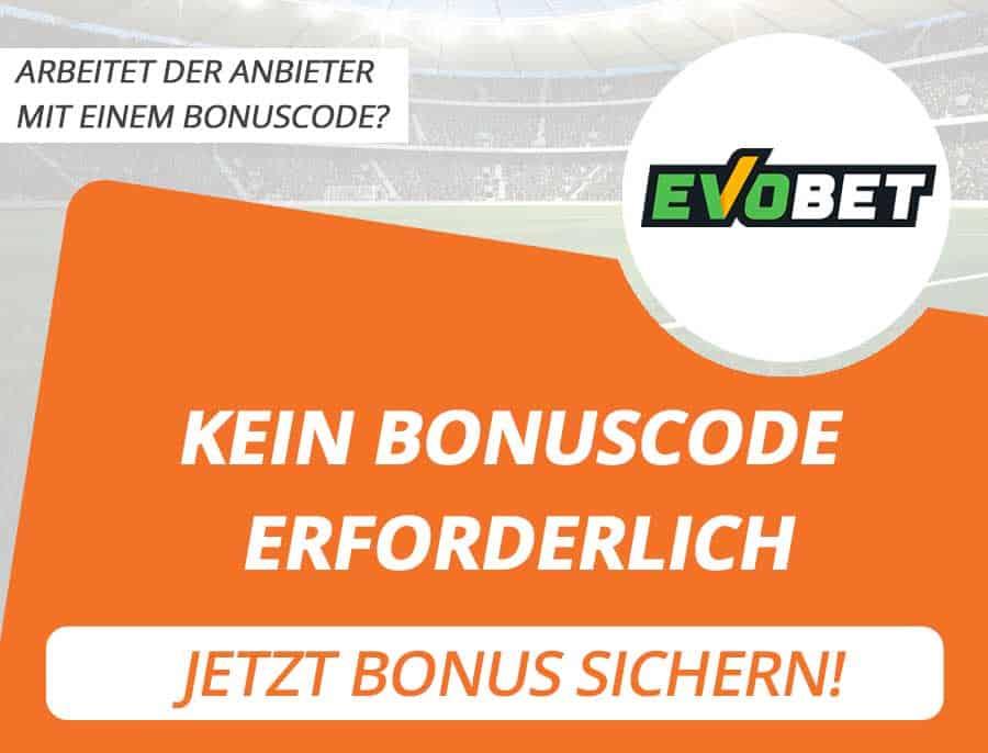 Evobet Bonus Code