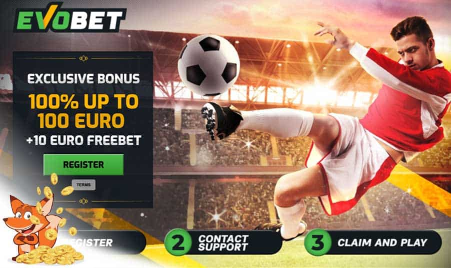 Evobet Sportwetten Bonus