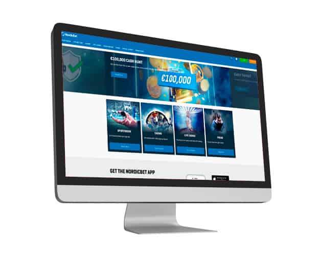 Nordicbet Website Desktop
