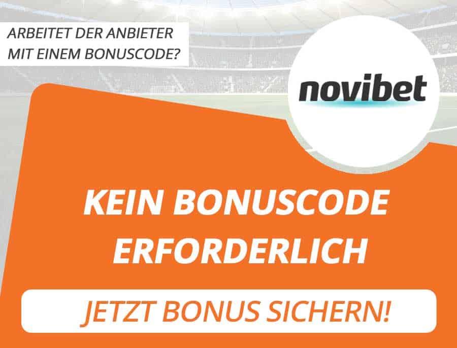 Novibet Bonus Code