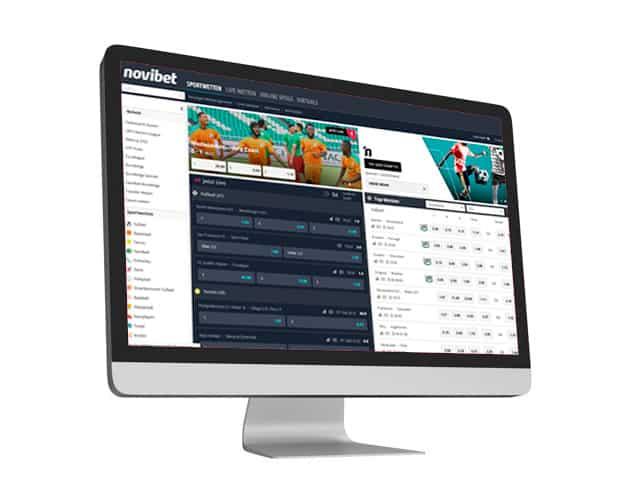 Novibet Desktop