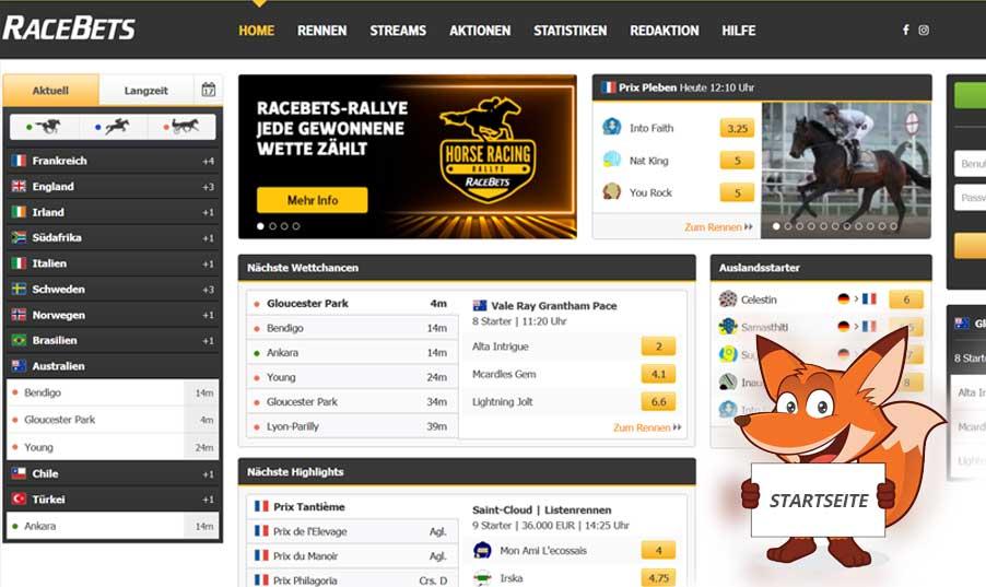 Startseite Racebets