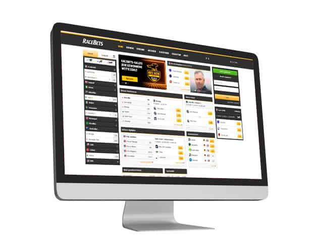 Racebets Website Desktop
