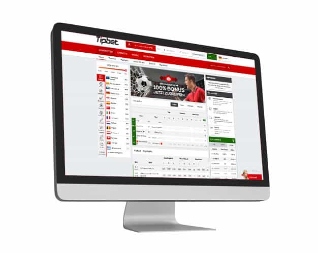 Tipbet Website Desktop