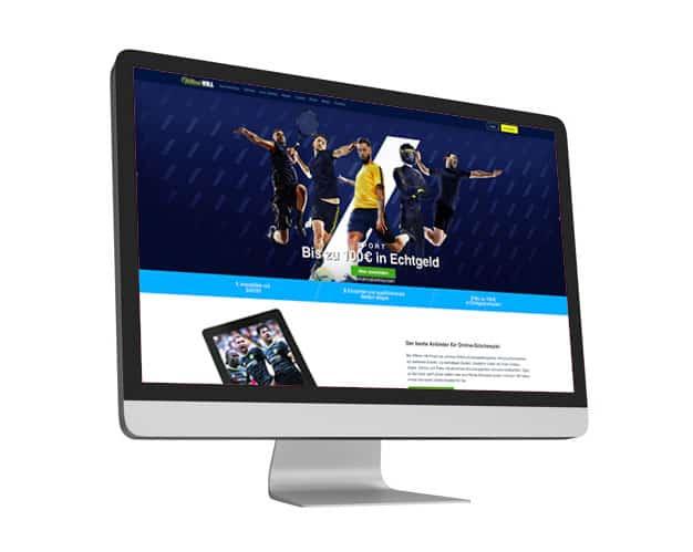 William Hill Website Desktop