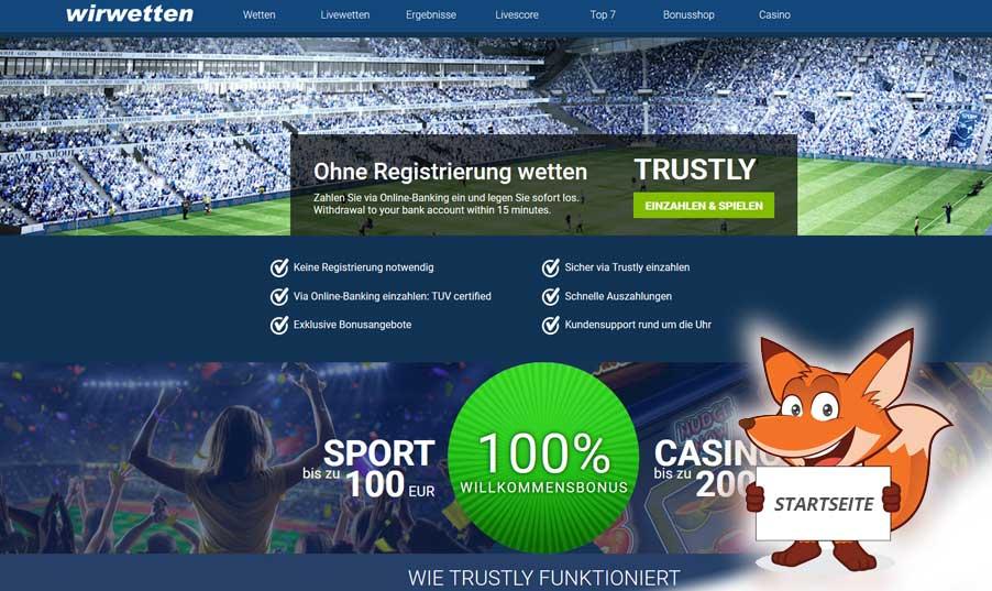Startseite Wirwetten.com