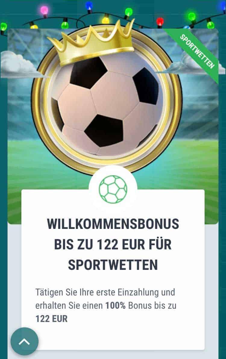 22bet App Bonus