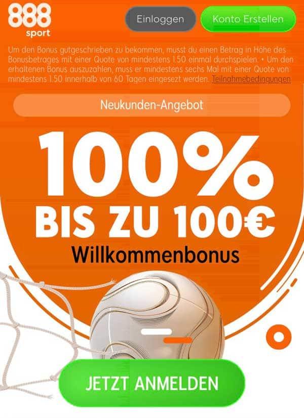 888sport App Bonus