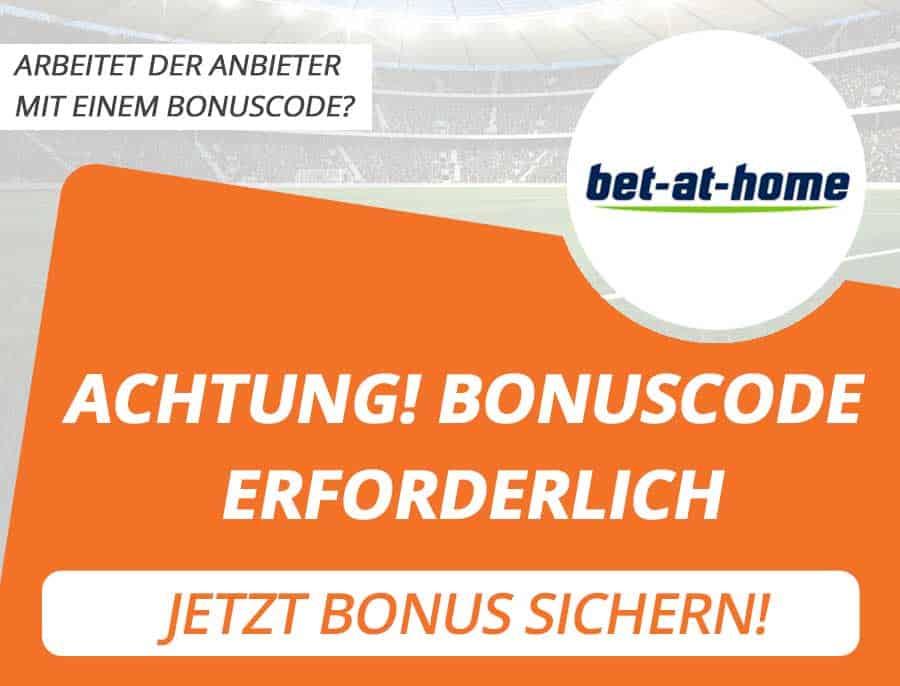 bet at home Bonus Code