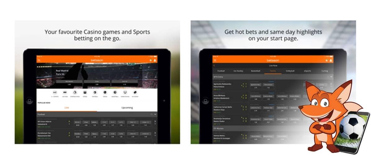 betsson Sportwetten App
