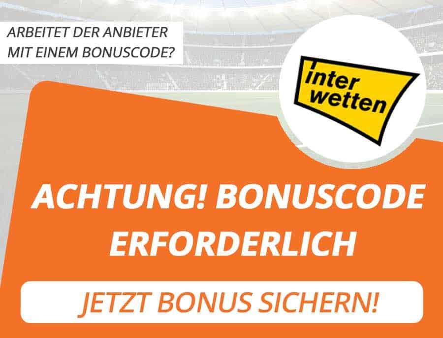 Interwetten Bonus Code