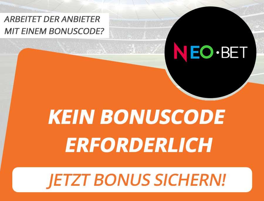 NeoBet Bonus Code