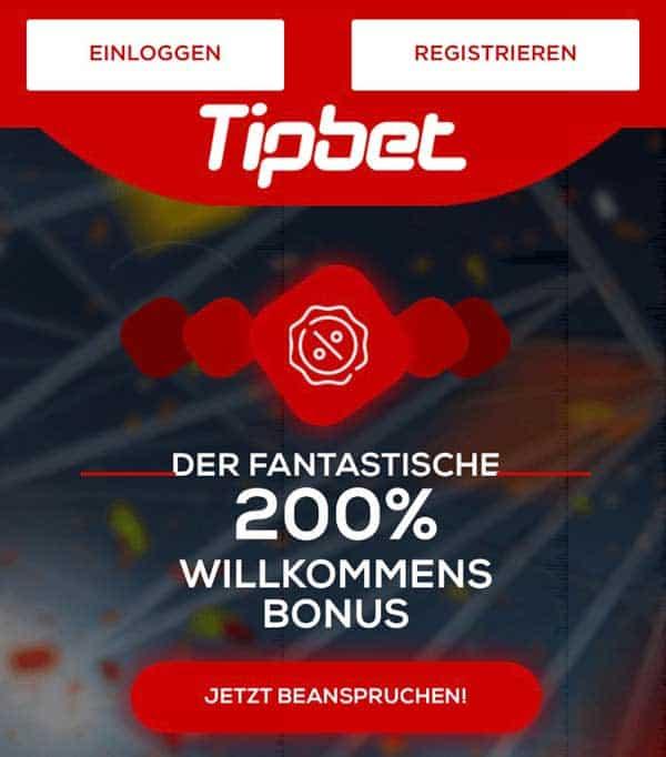 Tipbet Mobile Bonus