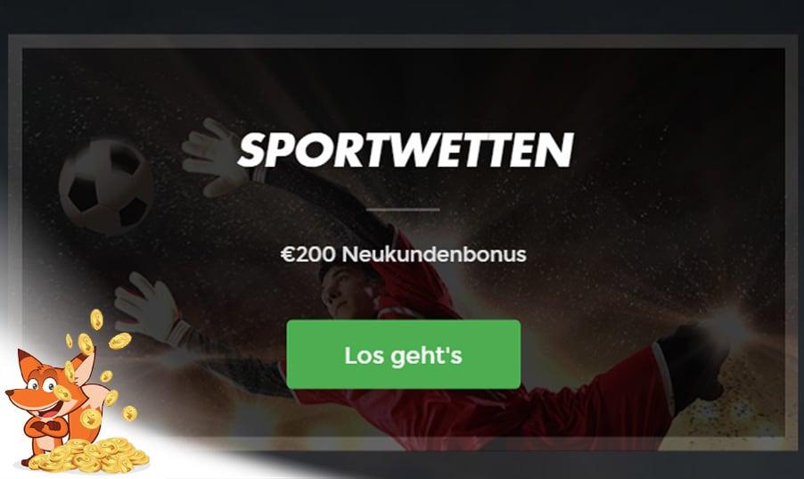 Intertops Bonus für Sportwetten